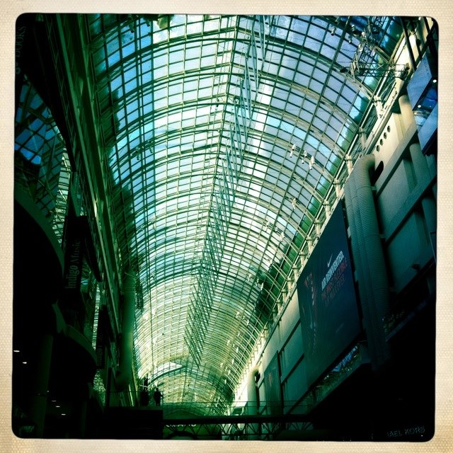Toronto Eaton Centre - photo taken with iPhone Hipstamatic