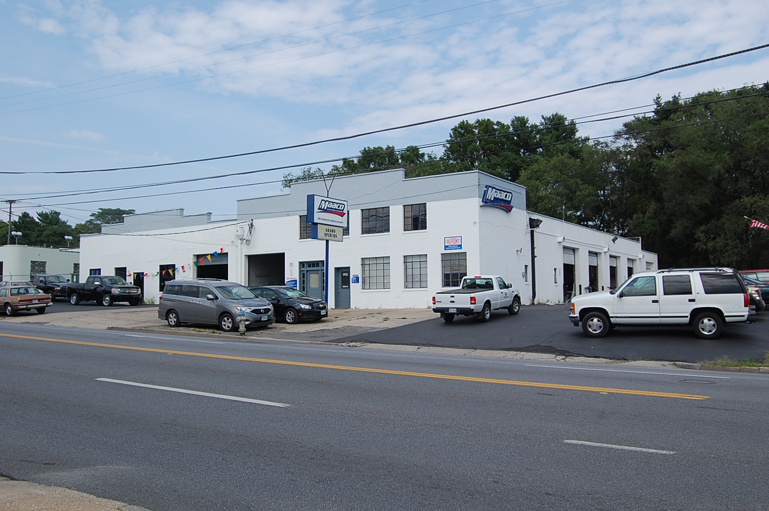 Maaco of Roanoke, Va. recently converted from an independent auto body shop to a franchise.