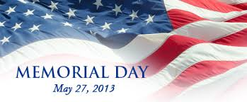 Happy Memorial Day all. Remember.
