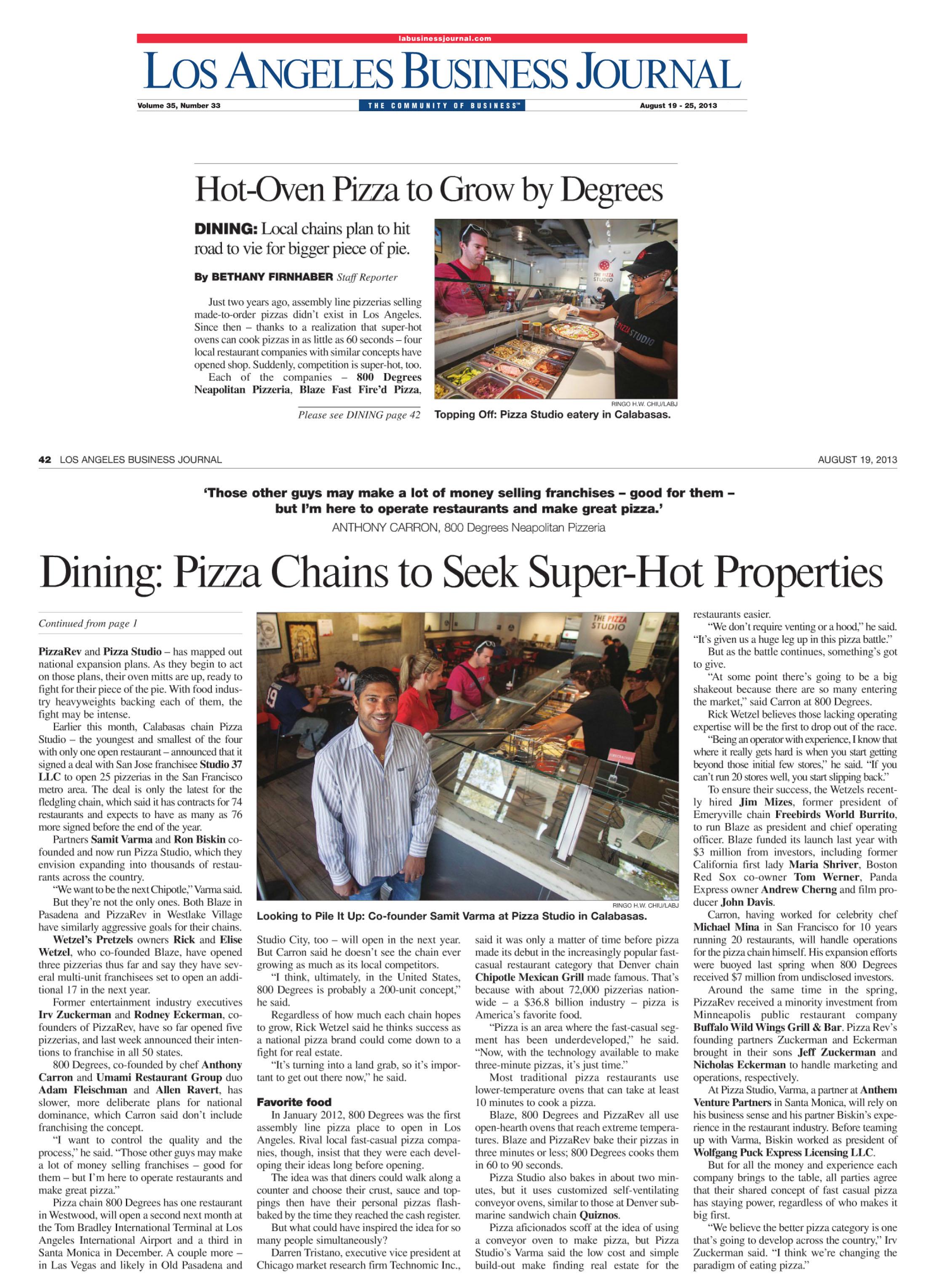 LA Business Journal last week.