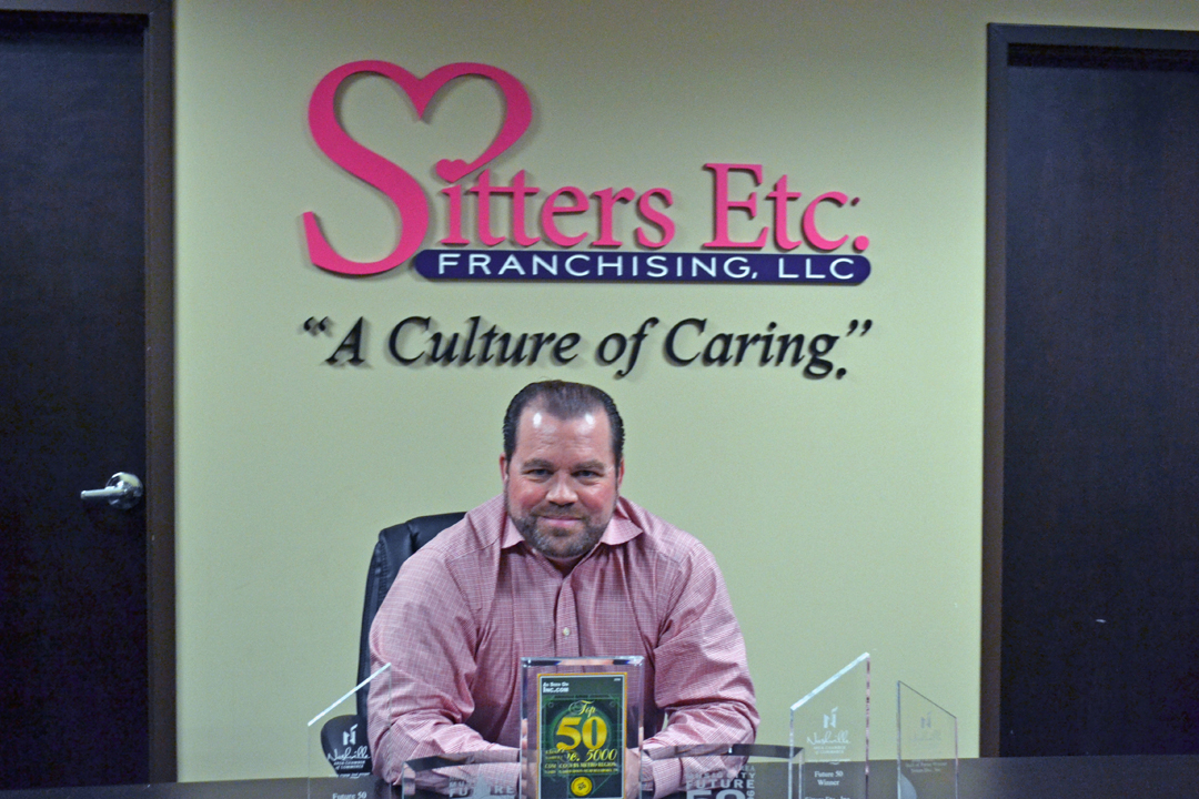 Founder and CEO of Sitters Etc., Beau Brothers