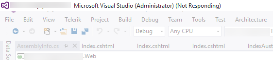 VisualStudio2015-Hang