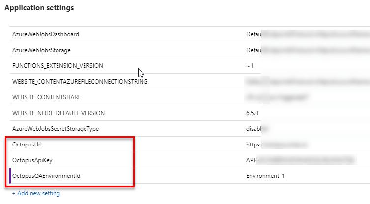 AzureFunctions-AppSettings