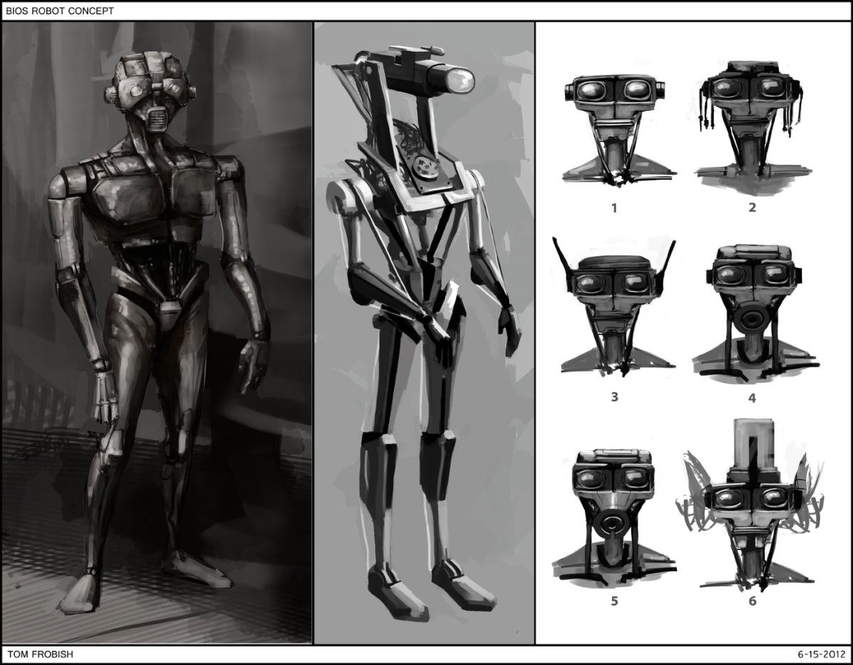 BIOS Robot Concept