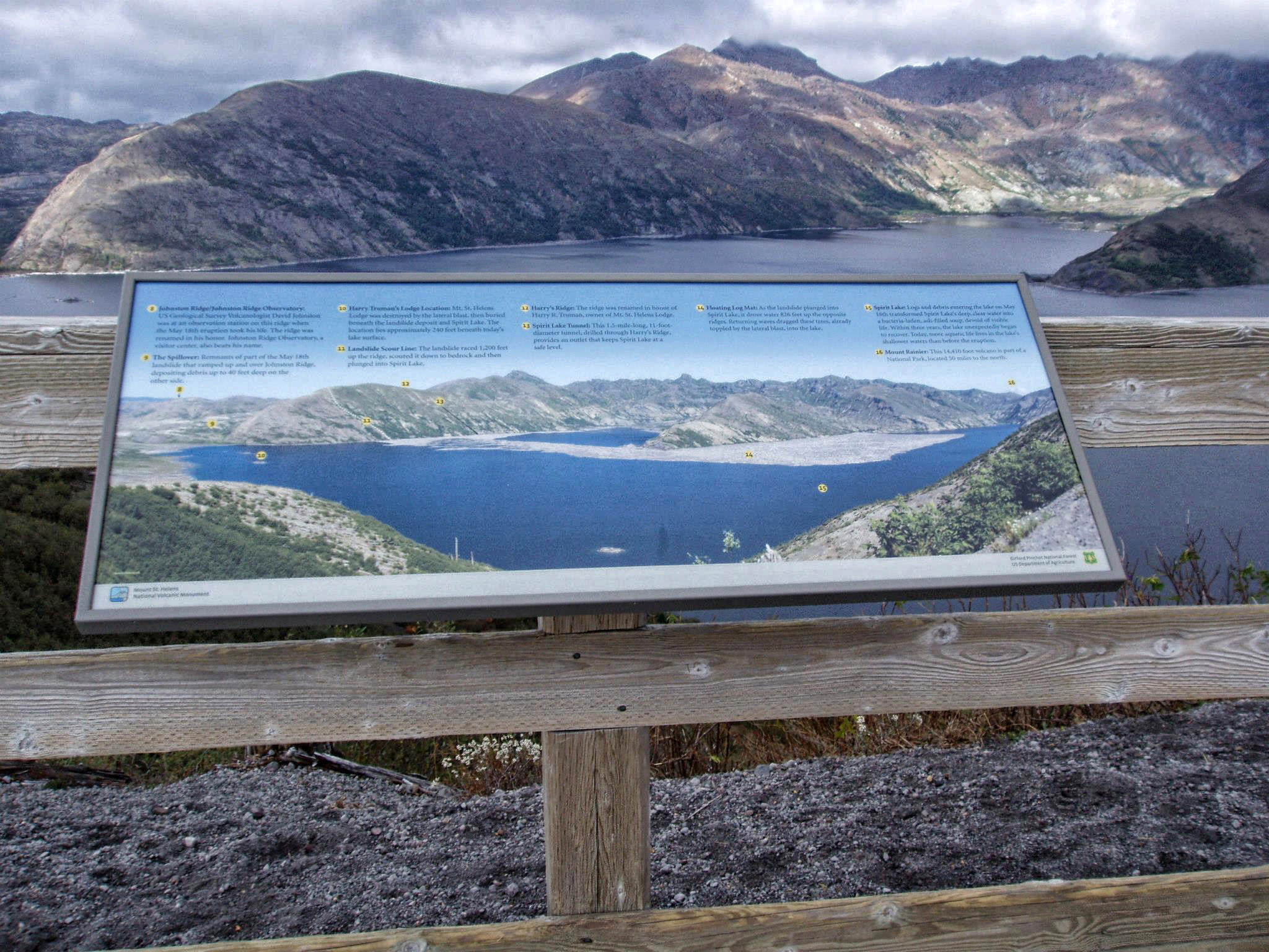 Mount ST Helens interpretive signs,  2012 - VIEW PROJECT