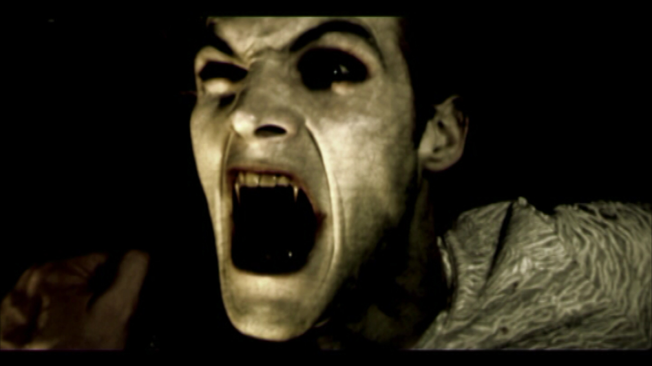 actor Pierre Biton as Vampire Siegfreid Sodium Babies - 2009