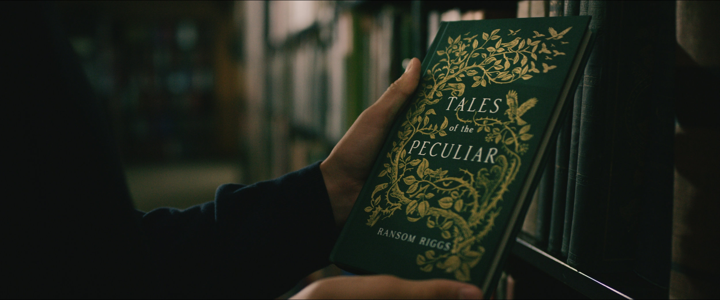 Tales of the Peculiar  - a book by Ransom Riggs