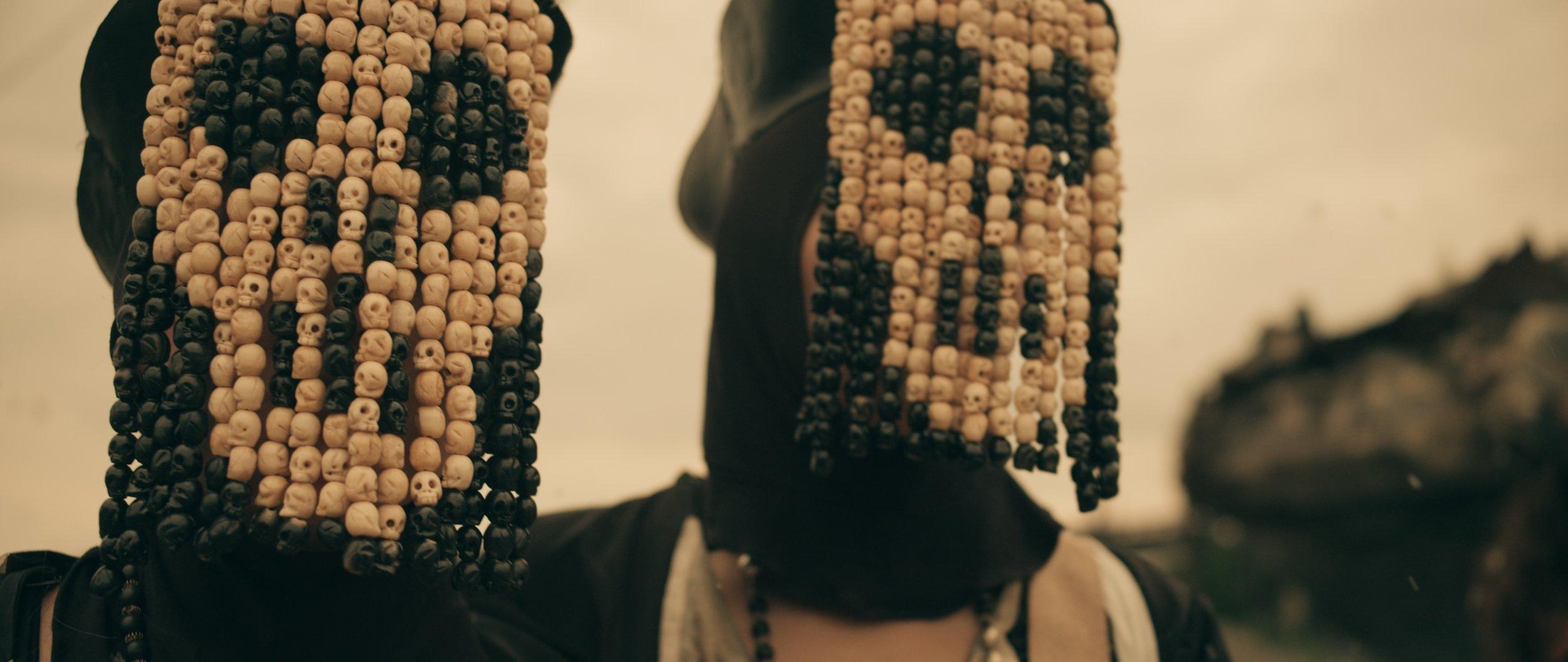 The Nuns beads's face concept design: Clarice Deka actress: Sarah Benedict & Joyce Lzrioza