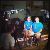 Lindsey and Cory Davis -  Founders of Jaxon's FROG Foundation Jaxon Davis' parents