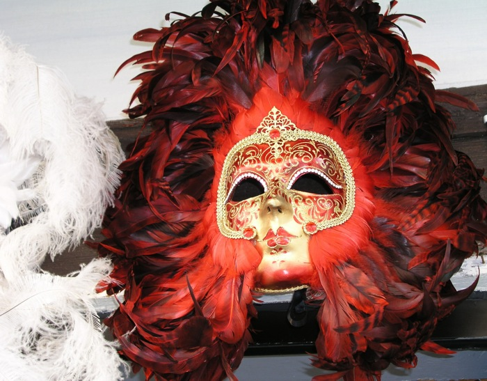 Venice Carnival Mask, image George Hirsch