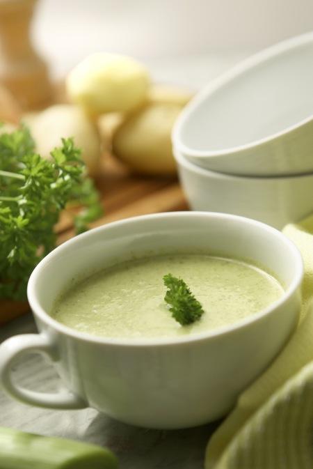 click    to enjoy Potato Leek Soup recipe