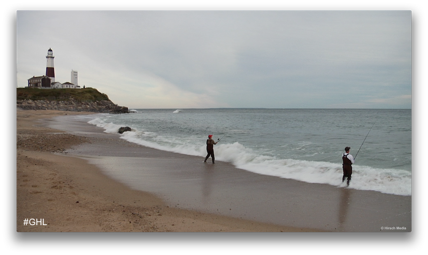 Surf Casting off Montauk Point