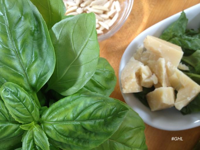 George Hirsch Pesto Ingredients