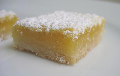 George Hirsch Lemon Squares