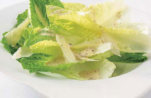 George Hirsch no yolk Caesar Salad