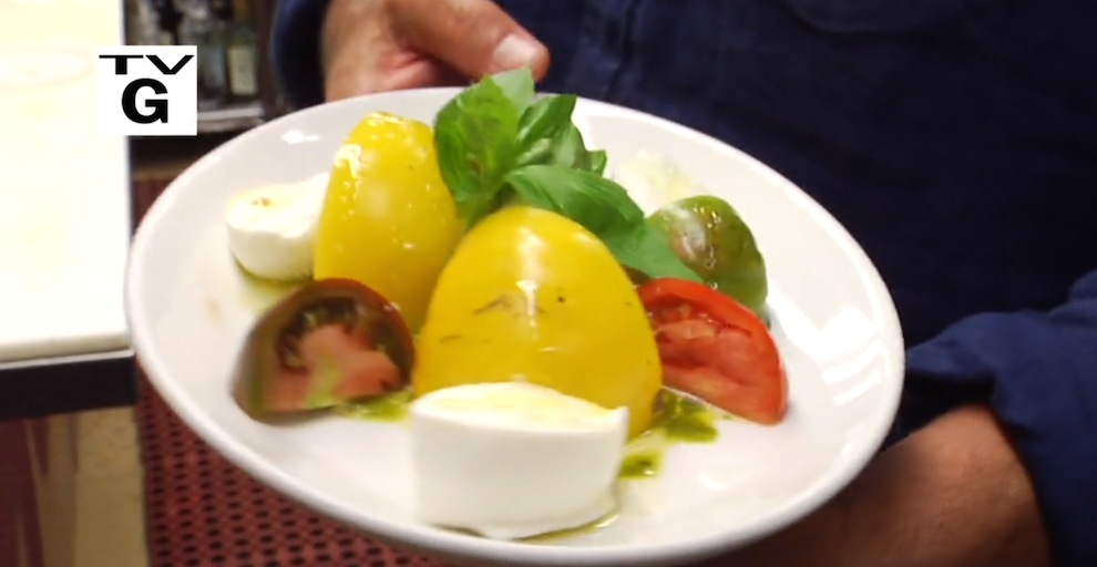 Tomato Mozz Salad from George Hirsch Lifestyle