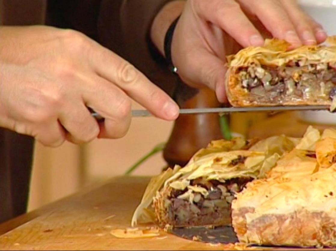 George Hirsch Pecan Filo Pie