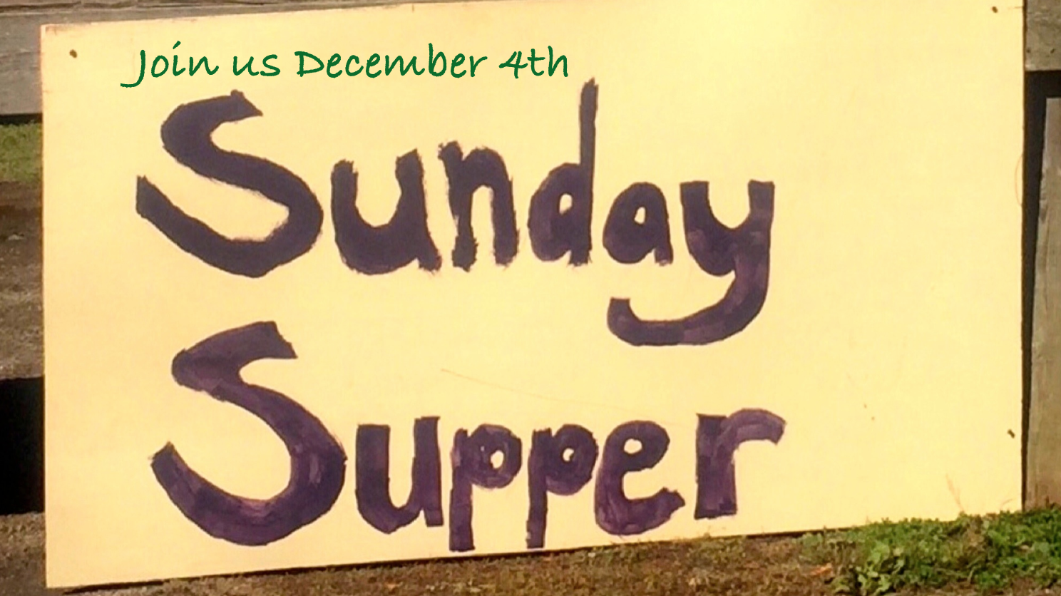 Sunday Supper + Our Christmas Gathering
