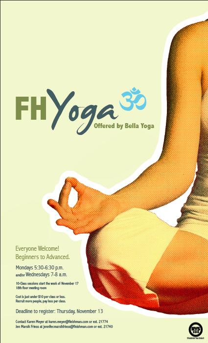 FH Yoga Poster