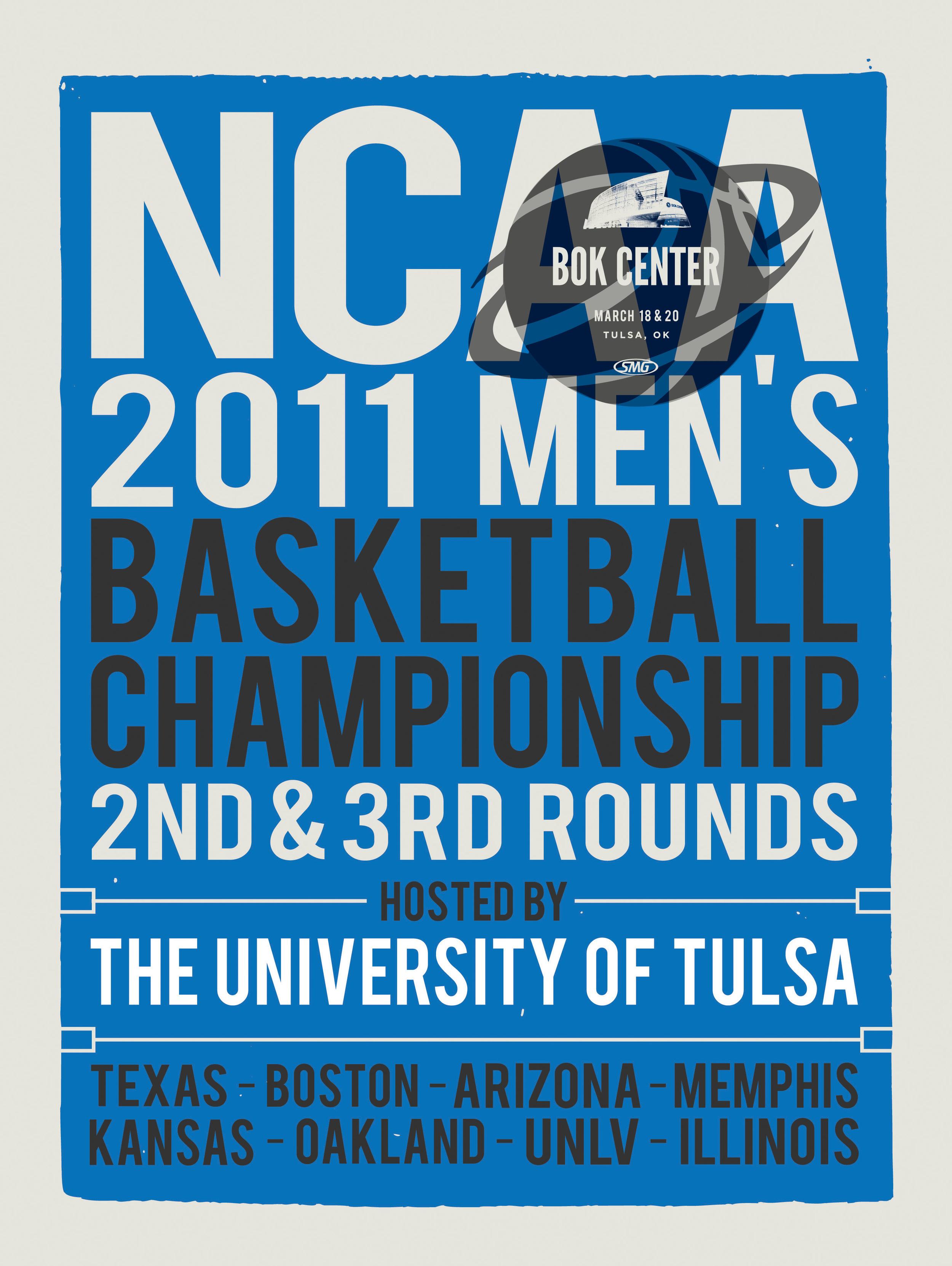 NCAA 2011 Men's Basketball Championships Poster