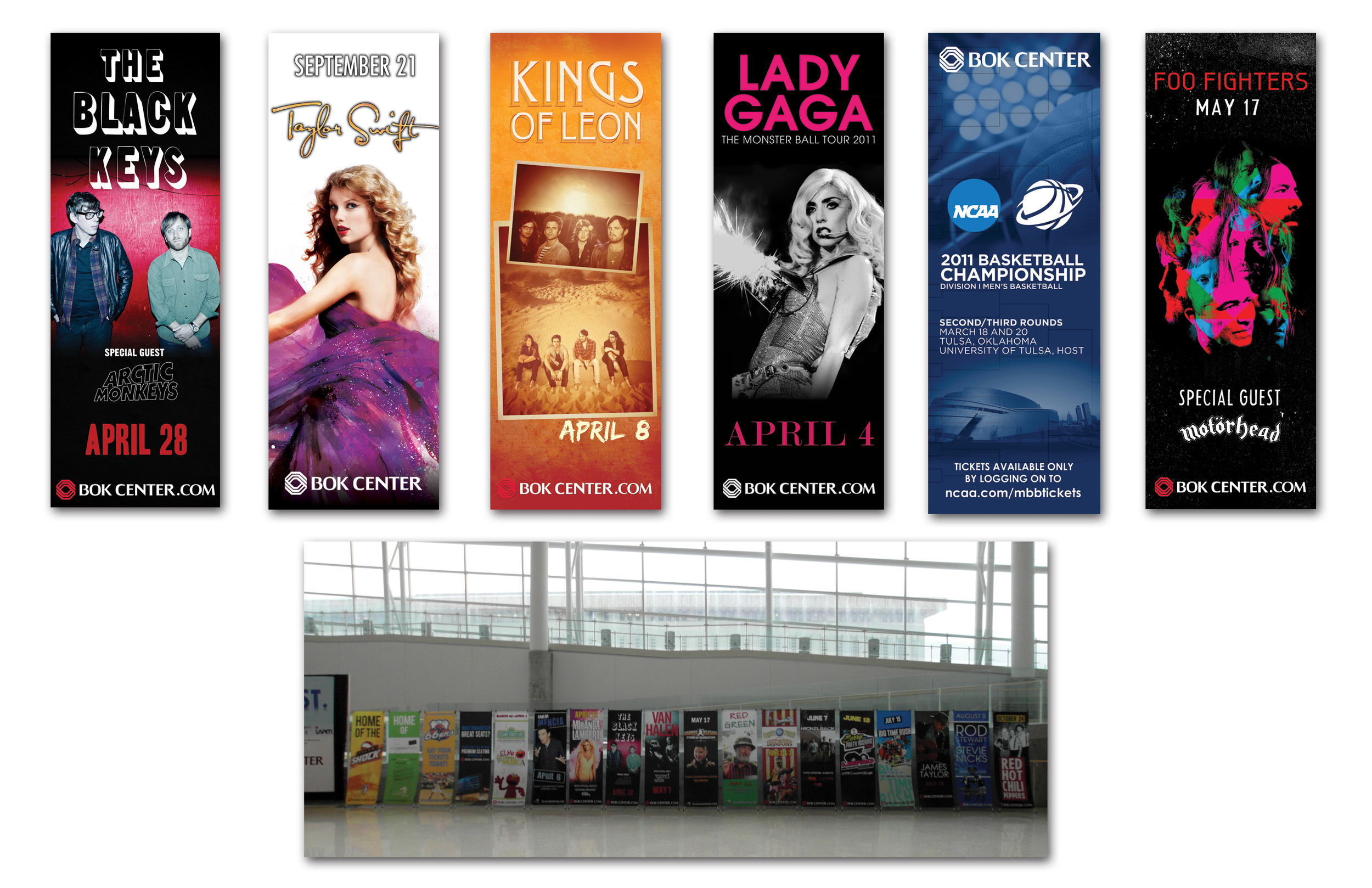 Concert & Event Banners