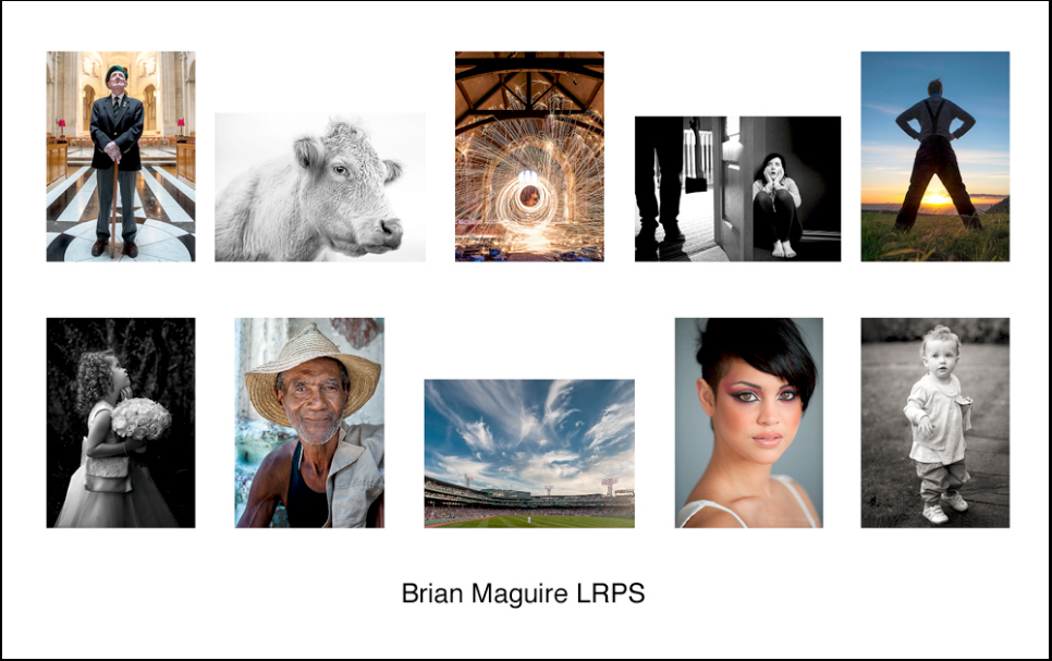 Brian Maguire LRPS