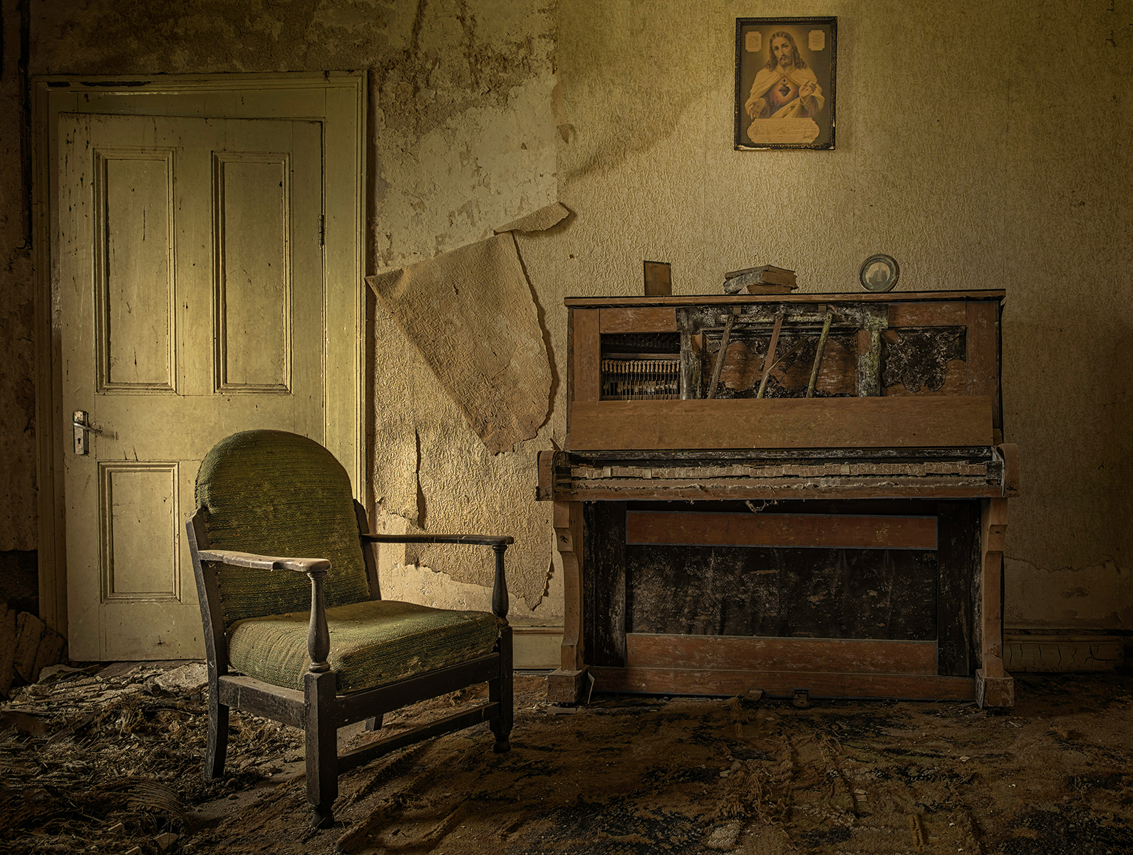 Hamils Piano by Matthew Canning