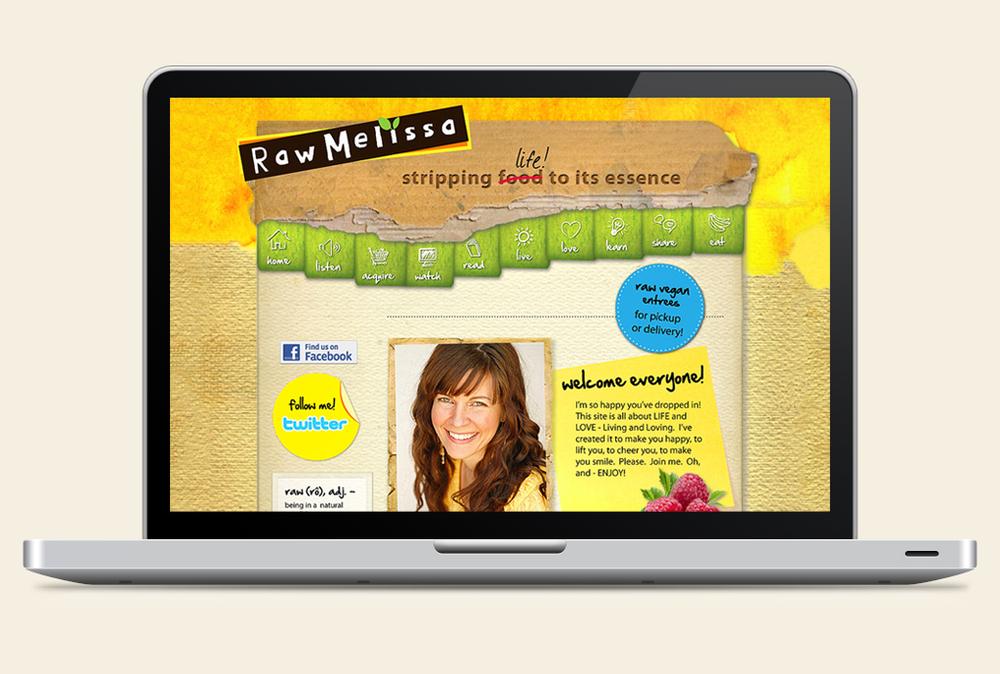 www.rawmelissa.com