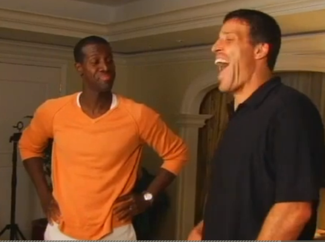 Tony Robbins cures lifelong Stuttering in 7 Minutes