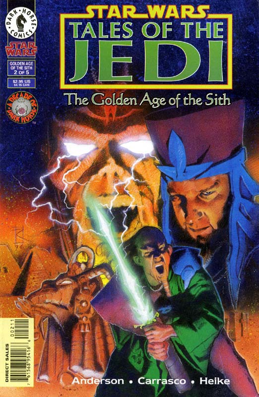 Tales of the Jedi: The Golden Age of the Sith, #2 (November, 1996)