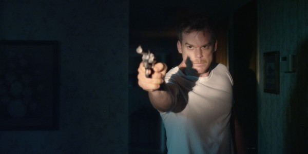 Michael C. Hall's Richard Dane has no idea of the chain of events he's about to start with just a single shot.