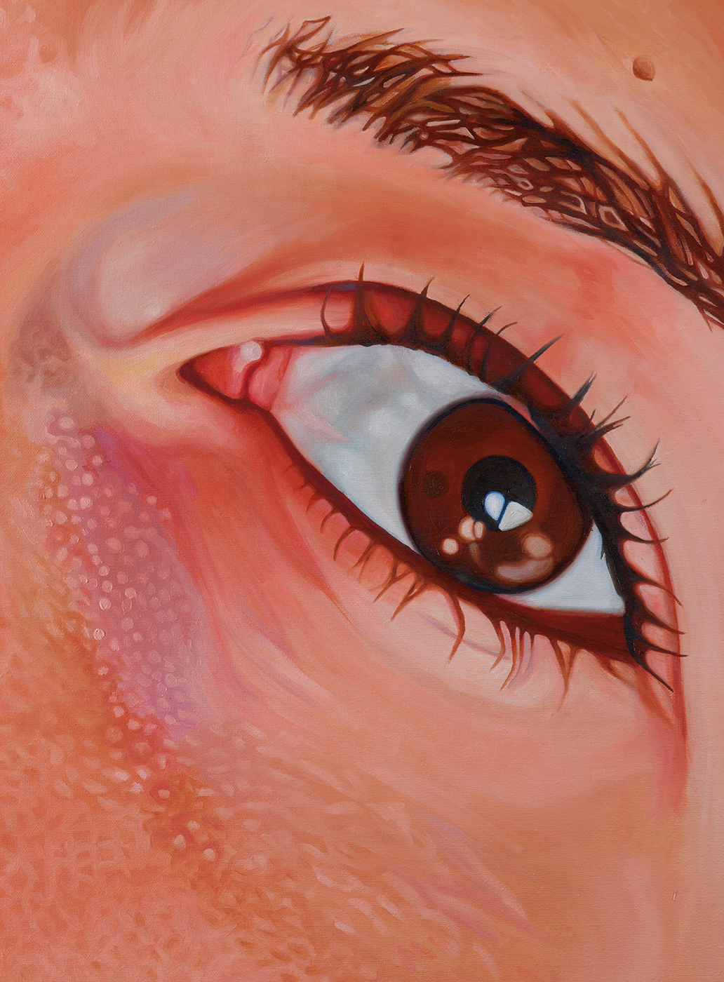 """""""Untitled (Courtney),"""" detail."""