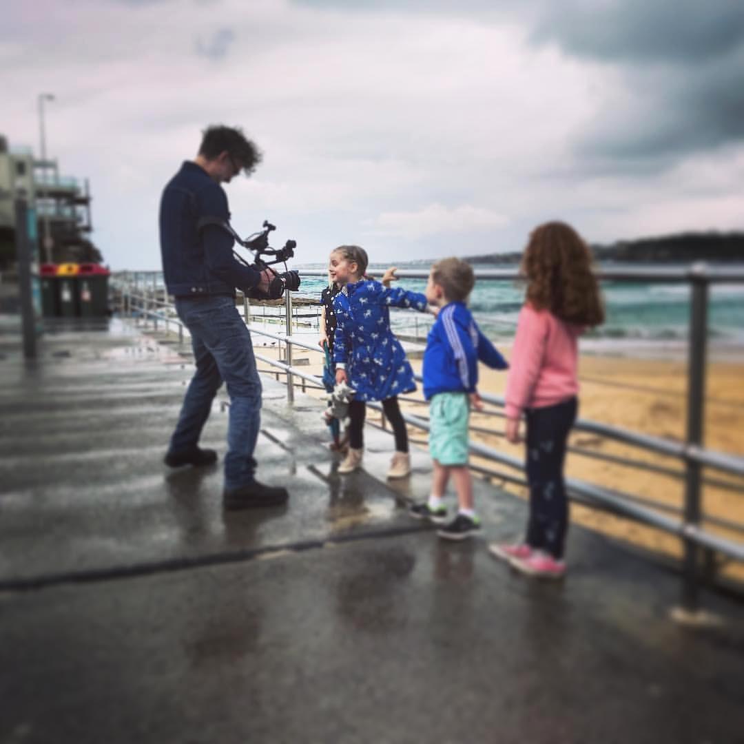 Bondi Beach filming