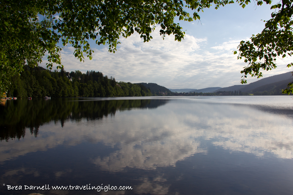 CAMPING IN GERMANY (TITISEE)