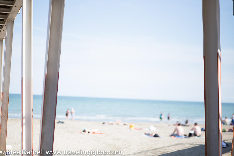 Traveling Igloo - Lido Beach, Venice, Italy