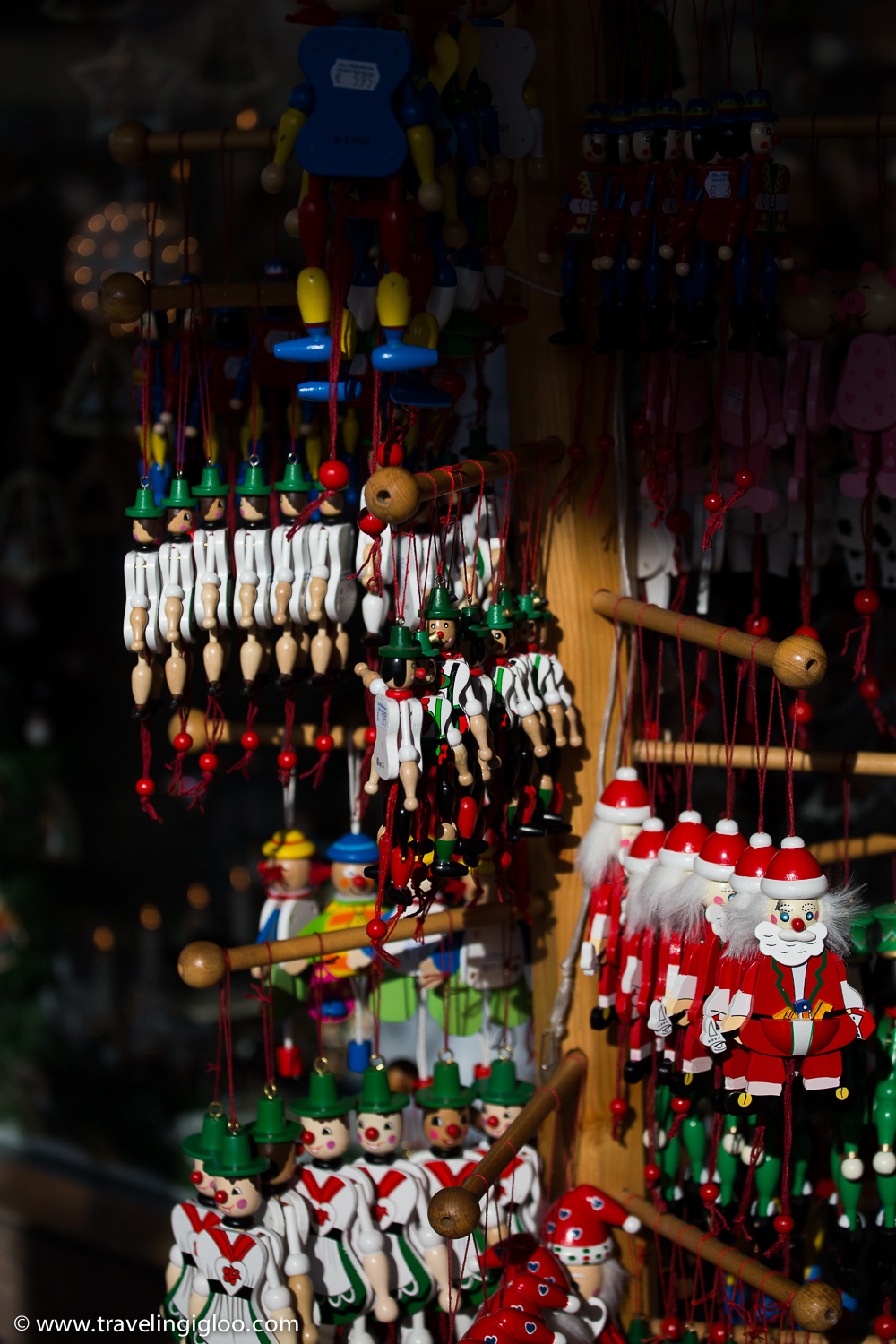 Christmas can be seen all around the city 365 days a year