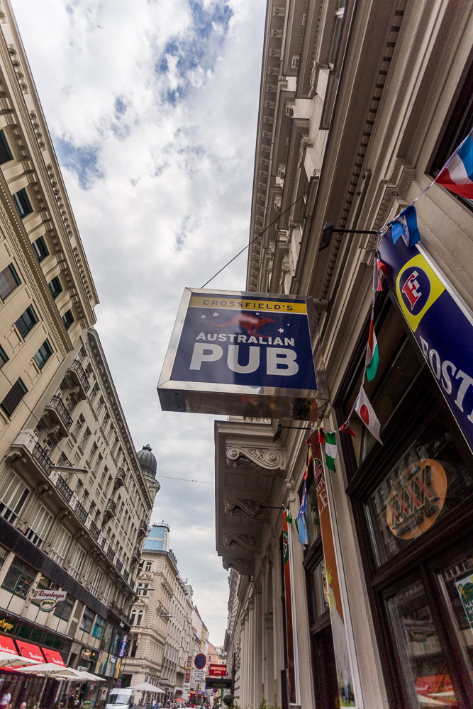 So many Australian Pubs in Vienna!
