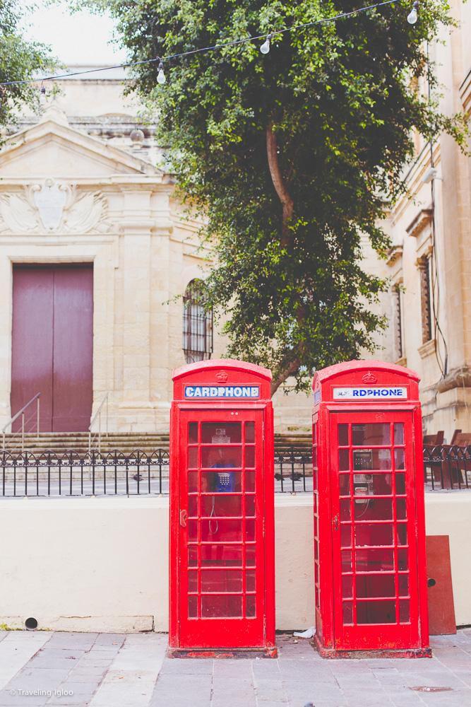 Malta Telephone booths