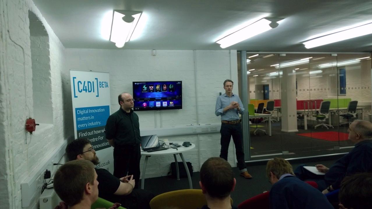 David Gilson and Jon Moss, and a Media Centre