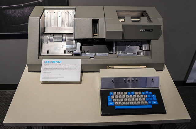 I learnt to program on one of these