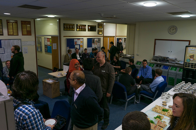 Sandwiches and Networking