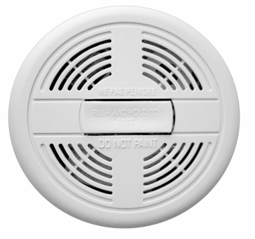 Smoke alarm with free advice to would-be artists