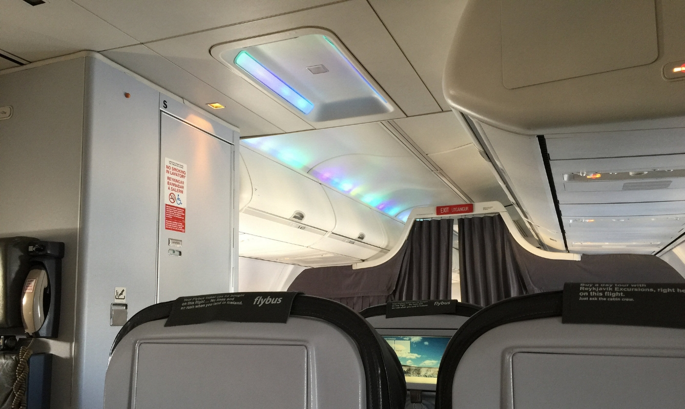 They have the Northern Lights built into their planes