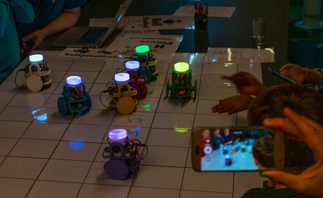 HullPixelbots on parade