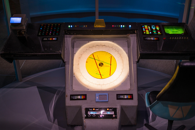 This is a Star Trek console. Really.