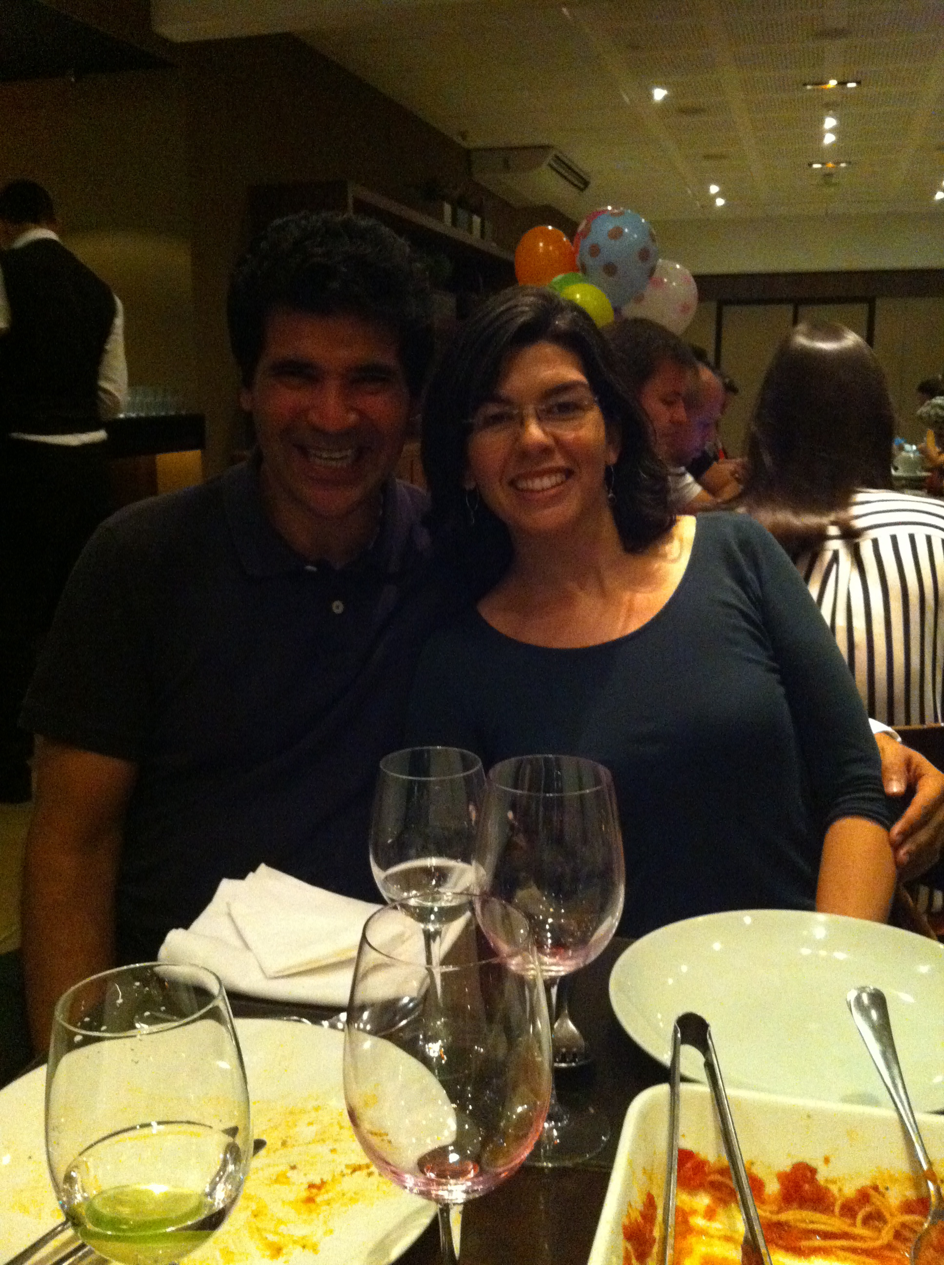 Ricardo and his wife