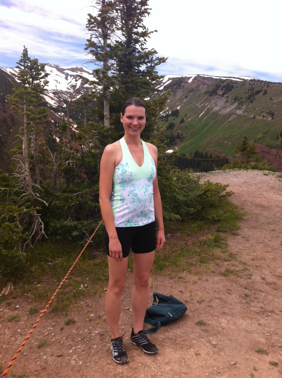 On Thursday, I went for a hike with some friends. See? Colorado is BEAUTIFUL!