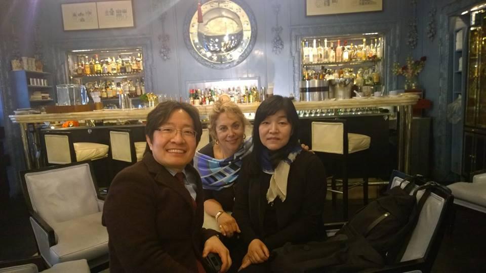 Joseph Lee, Kyoung Sook Shin and me