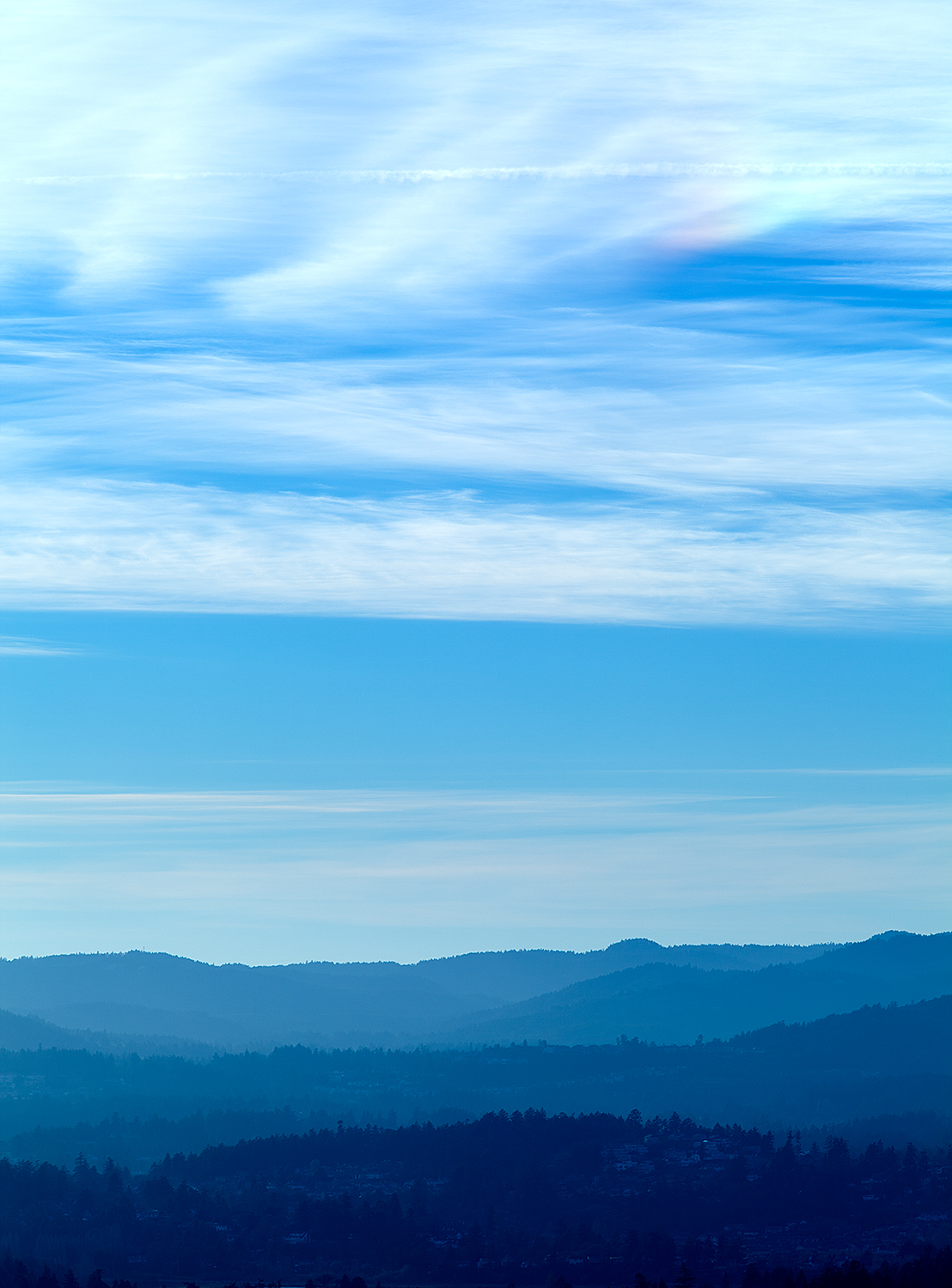 from Mt Doug, playing around with tone mapping.
