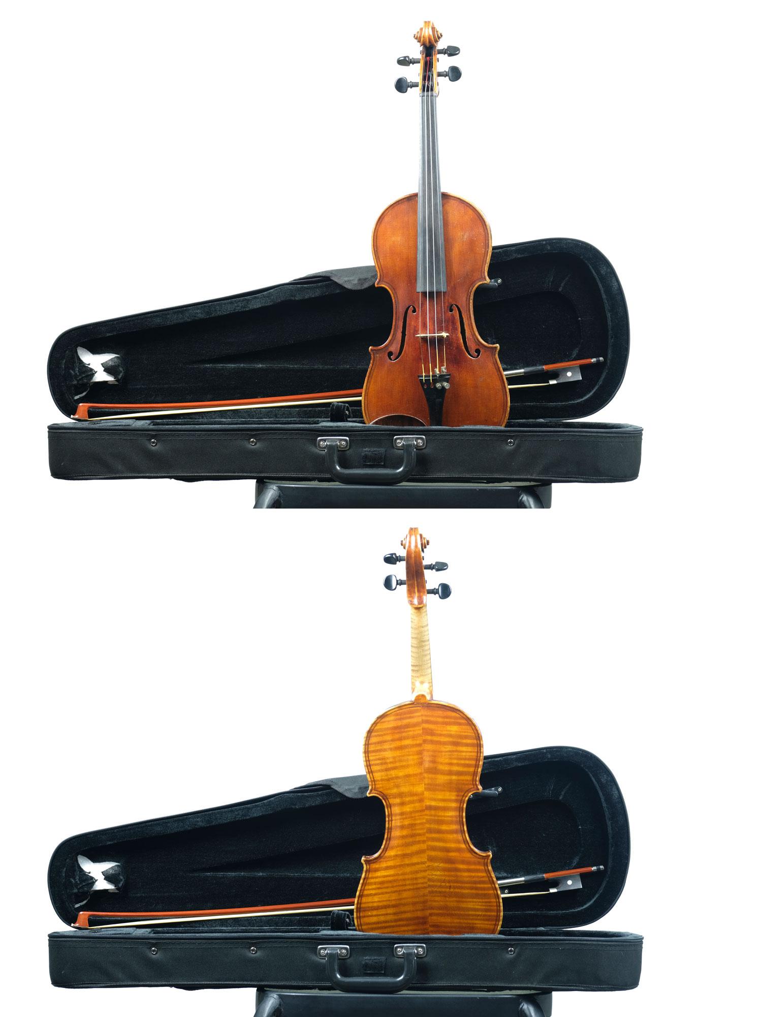 4X4 size German Maggini copy violin